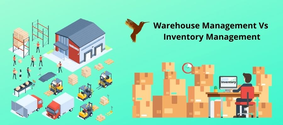 Difference between inventory and warehouse